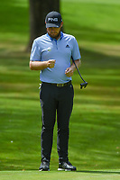 Tyrrell Hatton (ENG) waits to putt on 11 during round 2 of the World Golf Championships, Mexico, Club De Golf Chapultepec, Mexico City, Mexico. 2/22/2019.<br /> Picture: Golffile | Ken Murray<br /> <br /> <br /> All photo usage must carry mandatory copyright credit (© Golffile | Ken Murray)