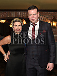 Dermot and Lorraine Murray at the Ardee Traders Dinner in Muldoons. Photo:Colin Bell/pressphotos.ie