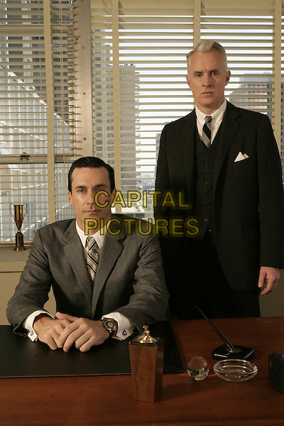 JON HAMM, JOHN SLATTERY<br /> in Mad Men (Season 1)<br /> *Filmstill - Editorial Use Only*<br /> CAP/FB<br /> Image supplied by Capital Pictures