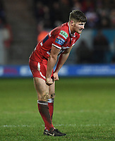 Picture by Anna Gowthorpe/SWpix.com - 02/02/2018 - Rugby League - Betfred Super League - Hull KR v Wakefield Trinity - KC Lightstream Stadium, Hull, England -Hull KR's Ryan Shaw