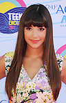 UNIVERSAL CITY, CA - JULY 22: Hannah Simone arrives at the 2012 Teen Choice Awards at Gibson Amphitheatre on July 22, 2012 in Universal City, California.