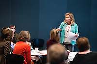 SEC Academic Leadership Development Program (SEC ALDP): &quot;Shared Governance&quot; - presenter Allison Pearson, MSU Associate Vice President for Academic Affairs.<br />  (photo by Megan Bean / &copy; Mississippi State University)