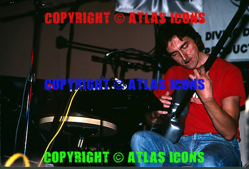 Allan Holdsworth; 1987<br /> Photo Credit: David Plastik/Atlas Icons.com