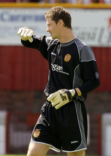 Graeme Smith, Motherwell.stock season 2006-2007.pic willie vass