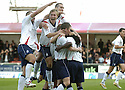 22/09/2007       Copyright Pic: James Stewart.File Name : sct_jspa12_falkirk_v_motherwell.RUSSELL LATAPY IS CONGRATULATED AFTER SCORING FALKIRK'S GOAL....James Stewart Photo Agency 19 Carronlea Drive, Falkirk. FK2 8DN      Vat Reg No. 607 6932 25.Office     : +44 (0)1324 570906     .Mobile   : +44 (0)7721 416997.Fax         : +44 (0)1324 570906.E-mail  :  jim@jspa.co.uk.If you require further information then contact Jim Stewart on any of the numbers above........