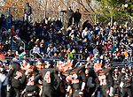 WATERTOWN, CT-112317JS18- Watertown fans look on as their team defeated Torrington 68-27 during their Thanksgiving Day game Thursday at Watertown High School. <br /> Jim Shannon Republican-American