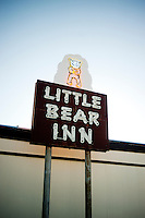 The Little Bear Inn restaurant  located just outside Cheyenne, Wyoming, Thursday, June 2, 2011. The restaurant is decorated in a 1960s style...Photo by Matt Nager