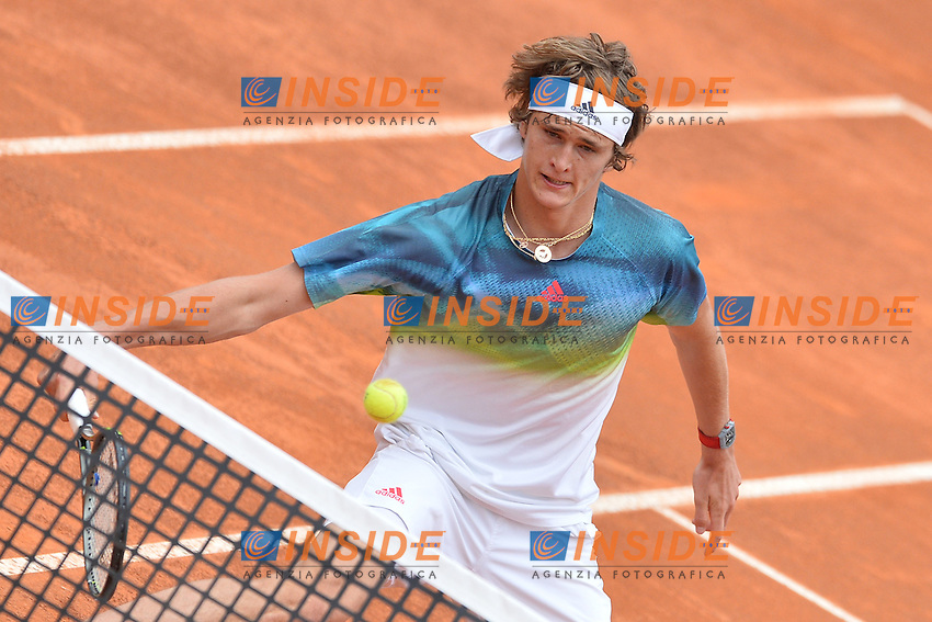 Alexander Zverev (GER)<br /> Roma 11-05-2016  Foro Italico<br /> Internazionali BNL d'Italia, <br /> Tennis ATP<br /> Foto Antonietta Baldassarre / Insidefoto