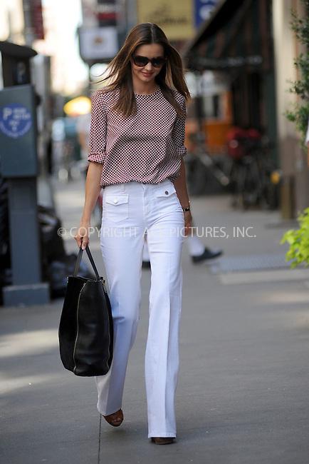 WWW.ACEPIXS.COM . . . . . .June 27, 2012...New York City....Miranda Kerr takes a walk in Chelsea on June 27, 2012 in New York City. ....Please byline: KRISTIN CALLAHAN - WWW.ACEPIXS.COM.. . . . . . ..Ace Pictures, Inc: ..tel: (212) 243 8787 or (646) 769 0430..e-mail: info@acepixs.com..web: http://www.acepixs.com .