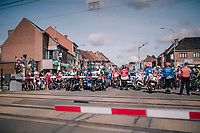 early breakaway group AND the peloton forced to stop at a railroad crossing; which literally &quot;shuts down&quot; the escape attempt <br /> <br /> 8th Primus Classic 2018 (1.HC)<br /> 1 Day Race: Brakel to Haacht (193km / BEL)