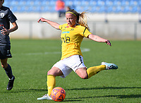 20190813 - DENDERLEEUW, BELGIUM : LSK's Therese Asland pictured during the female soccer game between the Greek PAOK Thessaloniki Ladies FC and the Norwegian LSK Kvinner Fotballklubb Ladies , the third and final game for both teams in the Uefa Womens Champions League Qualifying round in group 8 , Tuesday 13 th August 2019 at the Van Roy Stadium in Denderleeuw  , Belgium  .  PHOTO SPORTPIX.BE for NTB | DAVID CATRY