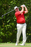 Boo Weekley (USA) watches his tee shot on 6 during round 2 of the 2019 Charles Schwab Challenge, Colonial Country Club, Ft. Worth, Texas,  USA. 5/24/2019.<br /> Picture: Golffile   Ken Murray<br /> <br /> All photo usage must carry mandatory copyright credit (© Golffile   Ken Murray)