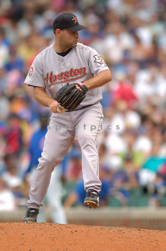 Dave Borkowski, of the Houston Astros, during their game against the Chicago Cubs on June 15, 2006 in Chicago...Astros win 3-2..David Durochik / SportPics