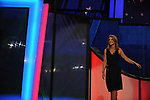Caroline Kennedy, daughter of former U.S. President John F. Kennedy, approaches the podium at the Democratic National Convention at the Pepsi Center in Denver, Colorado on August 25, 2008.