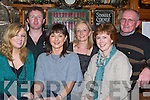 SWING: The craic was in full swing as the new year approached in Tom McCarthy's Bar, Castleisland. Front l-r: Linda Sinnott, Noreen Lyons and Bernie Sinnott. Back l-r: Tom McCarthy, Breda McCarthy and Patsy Lynch.   Copyright Kerry's Eye 2008