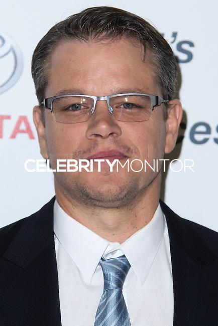 BURBANK, CA - OCTOBER 19: Actor Matt Damon arrives at the 23rd Annual Environmental Media Awards held at Warner Bros. Studios on October 19, 2013 in Burbank, California. (Photo by Xavier Collin/Celebrity Monitor)