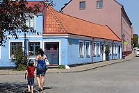 Altstadthäuser in Ystad, Provinz Skåne (Schonen), Schweden, Europa<br /> Historic city  in Ystad, Sweden
