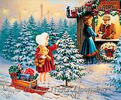 Dona Gelsinger, CHRISTMAS CHILDREN, paintings(USGE9904,#XK#)