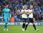 Tottenham's Harry Kane looks on dejected at the final whistle during the FA Cup Semi Final match at Wembley Stadium, London. Picture date: April 22nd, 2017. Pic credit should read: David Klein/Sportimage