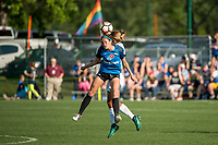 Kansas City, MO - Sunday May 07, 2017: Shea Groom during a regular season National Women's Soccer League (NWSL) match between FC Kansas City and the Orlando Pride at Children's Mercy Victory Field.