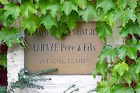 domaine lahaye pere et fils pommard cote de beaune burgundy france