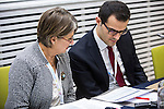 "BRUSSELS - BELGIUM - 23 November 2016 -- European Training Foundation (ETF) Conference on ""GETTING ORGANISED FOR BETTER QUALIFICATIONS"". -- Mirjam De Jong, ETF Specialist in Qualifications Systems and Osman Seckin Akbiyik Republic of Turkey - Vocational Qualifications Authority Head of Turkish Qualifications Framework Departmen. -- PHOTO: Juha ROININEN / EUP-IMAGES"