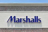 Marshalls deparment store exterior.