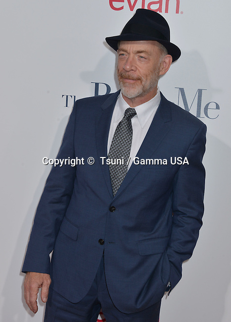 J.K. Simmons at the The Best of Me premiere at the Regal Theatre inLos Angeles.