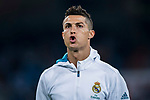 Cristiano Ronaldo of Real Madrid reacts prior the La Liga 2017-18 match between Real Madrid and Real Betis at Estadio Santiago Bernabeu on 20 September 2017 in Madrid, Spain. Photo by Diego Gonzalez / Power Sport Images