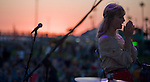 Alison Sudol of A FIne Frenzy performs Balboa Beach Music Fest October 13, 2012.