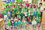 The children at Brookview Childcare, Sundays Well, Tralee dressed up for St. Patricks Day on Friday.