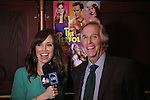 "Journalist Sara Gore and actor Henry Winkler attends press event to introduce the cast and creators of the new Broadway play ""The Performers""at the Hard Rock Cafe on Tuesday, Sept. 25, 2012 in New York. (Photo by © Walter McBride/WM Photography//AP)"