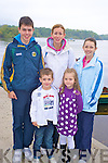 Jack McGrath, Lucy Breen, Conor Breen, Ciara McGrath and Emma Breen at the annual Beaufort GAA boat trip and walk which started from Ross Castle, Killarney on Sunday.