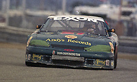 The #21 Chevrolet Monte Carlo LM of Kent Painter, Alistair Davidson, Willie Beck, Huw Bolle-Jones and Mauro Borella races to a 31st place finish in the 24 Hours of Daytona, IMSA race, Daytona International Speedway, Daytona Beach , FL, February 4, 1996.  (Photo by Brian Cleary/www.bcpix.com)