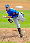 10 March 2007: New York Mets pitcher Oliver Perez on the mound against the Washington Nationals at Space Coast Stadium in Viera, Florida. <br /> <br /> Mandatory Photo Credit: Ed Wolfstein Photo
