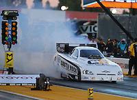 Jul 29, 2016; Sonoma, CA, USA; NHRA funny car driver Tim Gibbons during qualifying for the Sonoma Nationals at Sonoma Raceway. Mandatory Credit: Mark J. Rebilas-USA TODAY Sports