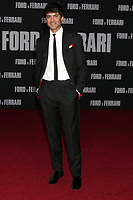 """LOS ANGELES - NOV 4:  Francesco Bauco at the """"Ford v Ferrari"""" Premiere at TCL Chinese Theater IMAX on November 4, 2019 in Los Angeles, CA"""