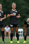 04 September 2015: Wake Forest's Lizzy Kinkler. The Wake Forest University Demon Deacons played the William & Mary University Tribe at Dail Soccer Field in Raleigh, NC in a 2015 NCAA Division I Women's Soccer game. The game ended in a 1-1 tie.