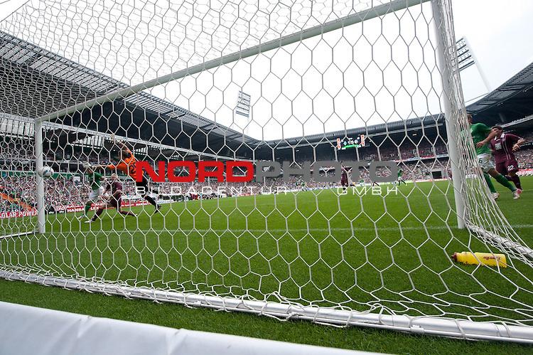 06.08.2011, Weser Stadion, Bremen, GER, 1.FBL, Werder Bremen vs 1.FC Kaiserslautern, im Bild<br /> 2:0 durch Markus Rosenberg (Bremen #11)<br /> // during the Match GER, 1.FBL, Werder Bremen vs 1.FC Kaiserslautern on 2011/08/06,  Weser Stadion, Bremen, Germany.<br /> Foto &copy; nph / Kokenge *** Local Caption ***