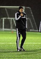 Swansea manager Garry Monk during training
