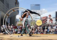 Nederland Rotterdam 2017. Rotterdam Circusstad Festival. Röhnrad.  Foto Berlinda van Dam / Hollandse Hoogte