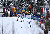 8th December 2017, Biathlon Centre, Hochfilzen, Austria; IBU Biathlon World Cup; Anton Shipulin, Martin Fourcade