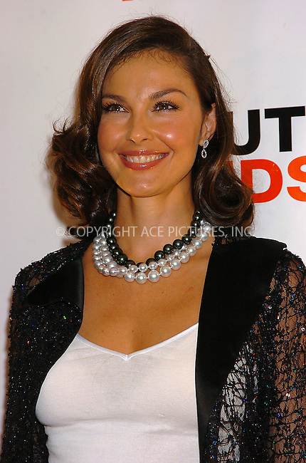 WWW.ACEPIXS.COM . . . . .  ..NEW YORK, SEPTEMBER 23, 2004....Ashley Judd attends the 2004 YouthAIDS Benefit Gala.....Please byline: AJ Sokalner - ACE PICTURES..... *** ***..Ace Pictures, Inc:  ..Alecsey Boldeskul (646) 267-6913 ..Philip Vaughan (646) 769-0430..e-mail: info@acepixs.com..web: http://www.acepixs.com