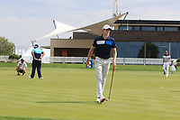 Gary Hurley (IRL) on the practice green during Round 1 of the D+D Real Czech Masters at the Albatross Golf Resort, Prague, Czech Rep. 31/08/2017<br /> Picture: Golffile | Thos Caffrey<br /> <br /> <br /> All photo usage must carry mandatory copyright credit     (&copy; Golffile | Thos Caffrey)