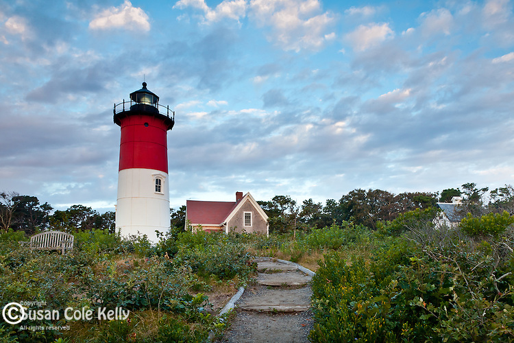 Nauset Light, Cape Cod National Seashore, Eastham, Cape Cod, MA, USA