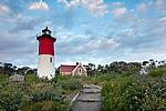 Nauset Light, Cape Cod National Seashore, Eastham, Cape Cod, MA, USA