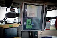 Sugar beet drill control panel - Kvenrland GeoSeed