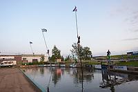 FIERLJEPPEN: BURGUM: 20-09-2019, Keningsljeppen Burgum, ©foto Martin de Jong