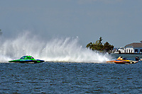 "Brandon Kennedy, GP-25 ""EMS Survivor"", Marty Wolfe, GP-93 ""Renegade""  (Grand Prix Hydroplane(s)"