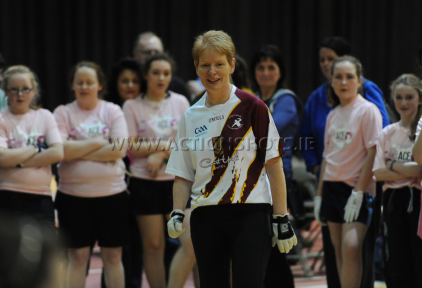 17th November 2013; Paula Dagg. She's Ace - Women in handball event, Breaffy House Sports Arena, Castlebar, Co Mayo. Picture credit: Tommy Grealy/actionshots.ie.